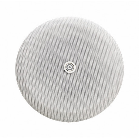 """P4284-01 - Metal grid for 4 """" round speakers - white"""