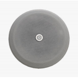 """P4284-02 - Grille en métal pour haut-parleurs 4 """" - ronde - antracite"""