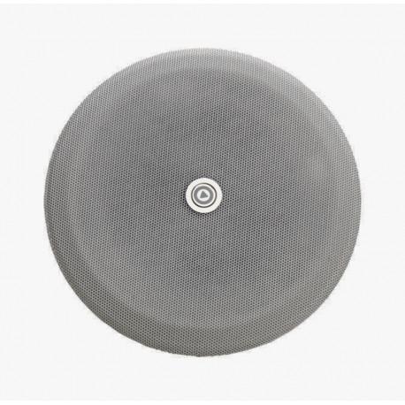 """P4284-02 - Metalen rooster voor 4 """" luidspreker - rond - antraciet"""
