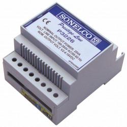 P3226 - Alimentation à découpage de 25 VA - 230 VAC 50-60 Hz - installation sur rail DIN. Dimensions