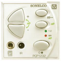 PCP1232-01 - Bedienung - Stereo 2 x 1,5 W mit Anruf - 2 Stereokanäle - Weiß