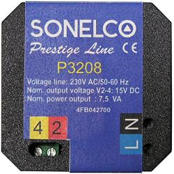 P3208 Voeding 7,5 VA -230 VAC